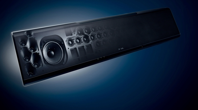 Hardwaretest: Yamaha YSP-5600 - der Energieriegel im Hochformat
