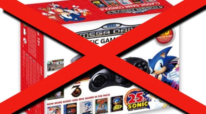 Sega veröffentlicht Mega Drive Classic – NICHT!!!