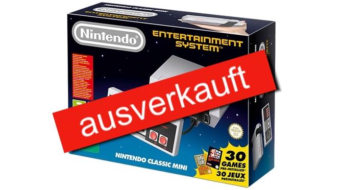 Nintendo Classic Mini – heute ist Release … oder fast