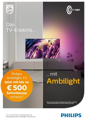 Philips Ambilight Bonus