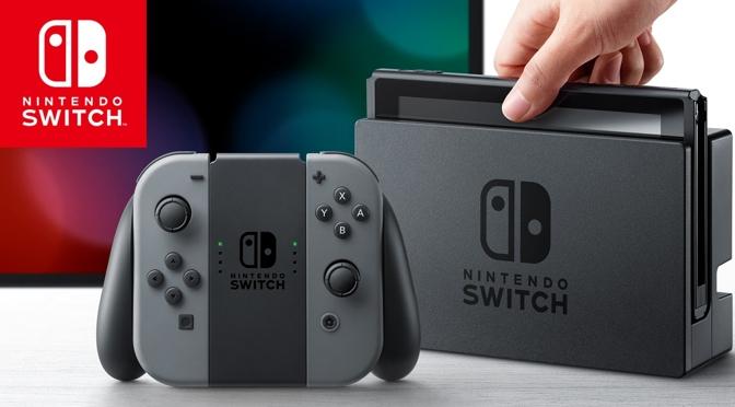 Nintendo Switch – da kommt einiges zusammen