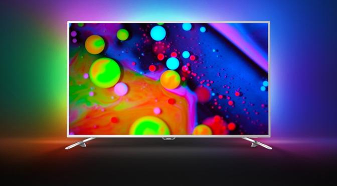 neue Philips TVs mit Ambilight, OLED, neuer P5 Engine für Android M, Bildverbesserung und HLG