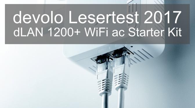 devolo Lesertest - dLAN 1200+ WiFi ac Starter Kit