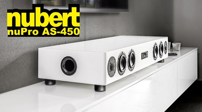 Hardwaretest: nubert nuPro AS-450 - der Soundbrocken unter den Soundbars