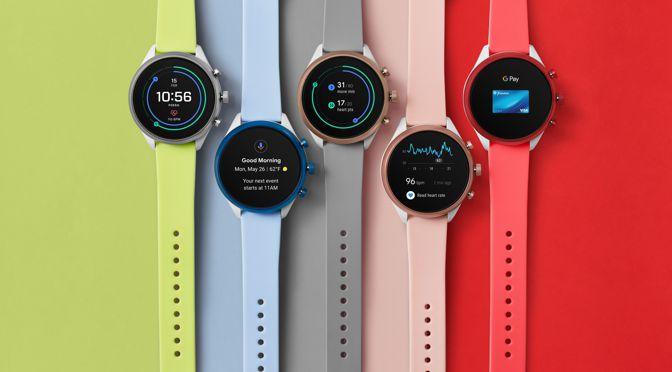 FOSSIL bringt die erste Smartwatch mit Qualcomm Snapdragon Wear 3100 Prozessor
