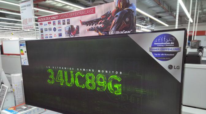 Gaming Award für LG-Gaming-Monitore