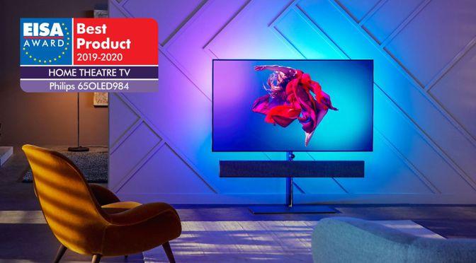 Philips OLED-TVs im dritten Jahr in Folge von der EISA ausgezeichnet