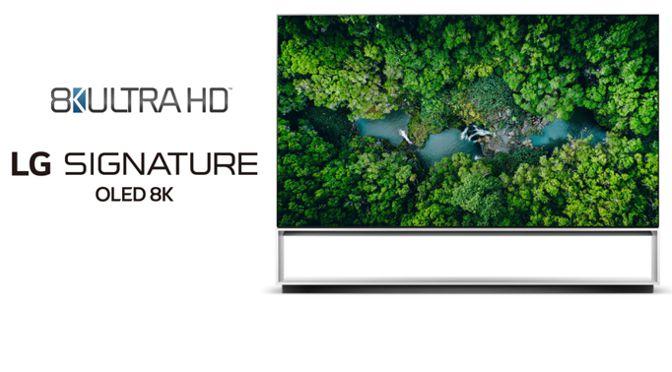 Übertreffen als erste den Branchenstandard: 8K TV von LG