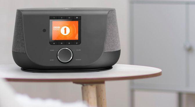 Hama Digitalradio DIR 3300 - Hybridradio im angesagten Stoff-Design