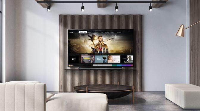 LG STATTET 2019ER FERNSEHER MIT APPLE TV-APP UND APPLE TV+ AUS