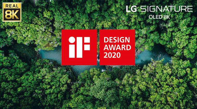 LG OLED TVs werden erneut mit dem if design award geehrt
