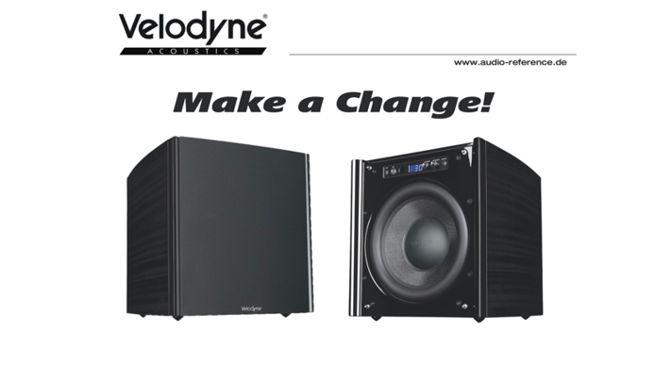 "Velodyne Acoustics DD-10 Plus Subwoofer – Trade-In-Aktion ""Make a Change"""