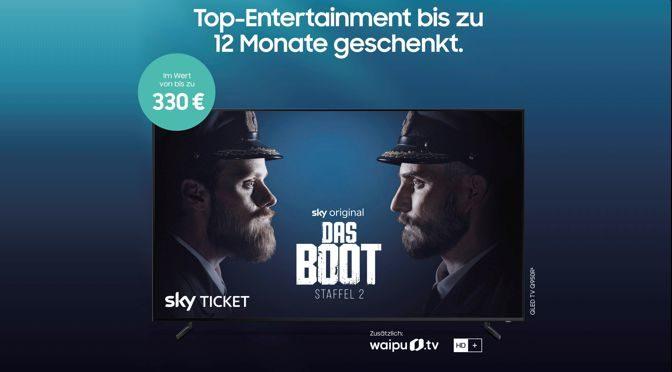 Große Auswahl an Filmen und Serien: Das neue Samsung EntertainPaket